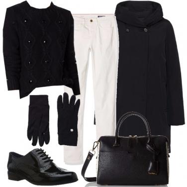 Outfit Una goccia di bianco