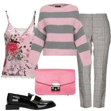 Outfit Il top a fiori