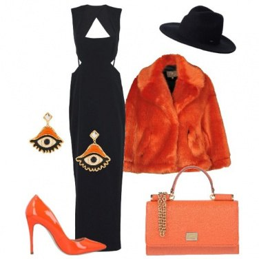 Outfit Halloween in lungo