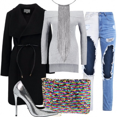 Outfit Argento vivo