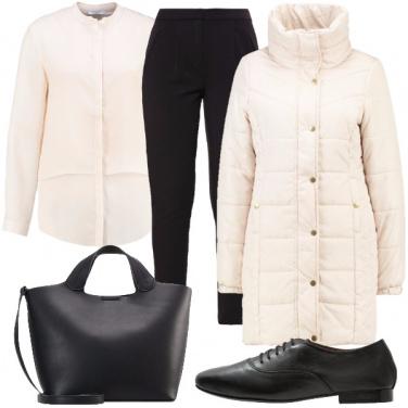Outfit Comoda nella fredda città