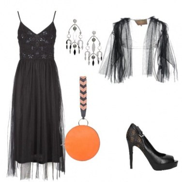 Outfit Halloween con chic