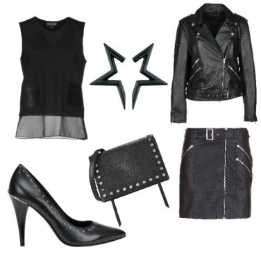 Outfit Black Skin
