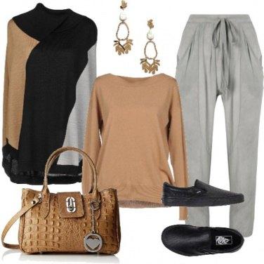 Outfit Morbido e neutro