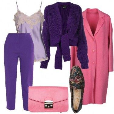 Outfit I mocassini a fantasia