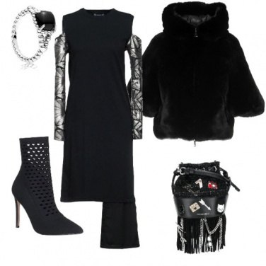 Outfit Black halloween