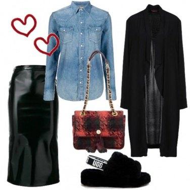 Outfit La borsa a quadri