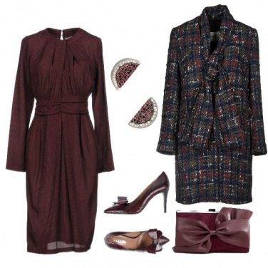 Outfit Un colore sontuoso per la sera