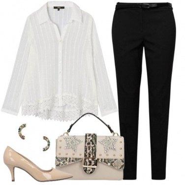 Outfit Camicetta & décolleté