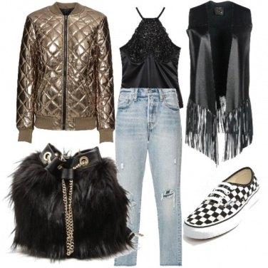 Outfit \'Cause this is a thriller