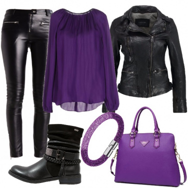 Outfit Istinto viola