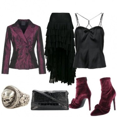 Outfit Halloween chic