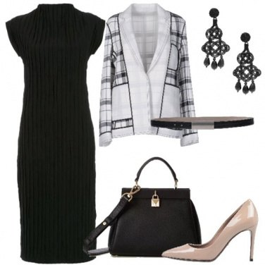 Outfit Giacca geometrica