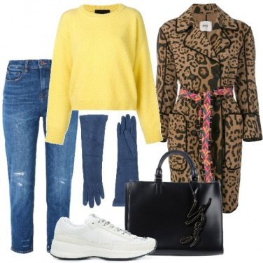 Outfit Animalier fashion