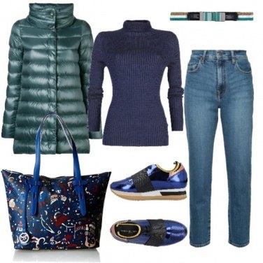 Outfit TSK Caldo, comodo e colorato