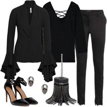 Outfit Il trucco di Halloween