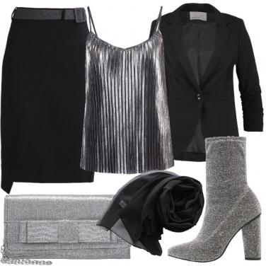 Outfit Gli stivaletti glitter