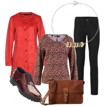 Outfit Red in casual