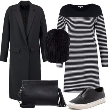 Outfit Il vestito a righe