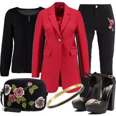 Outfit Dettagli floreali