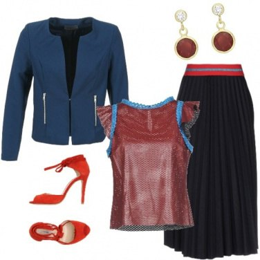 Outfit Glamour rock