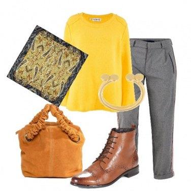 Outfit Lo stivaletto stringato