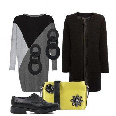 Outfit La tracolla in giallo