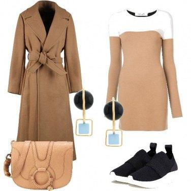 Outfit Sfumature di beige
