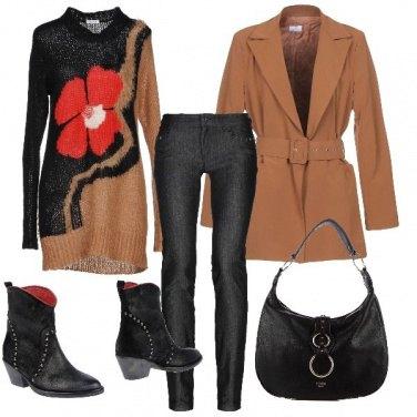 Outfit Il Papavero rosso