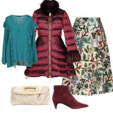 Outfit Una gonna preziosa