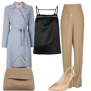 Outfit In ufficio con i pantaloni