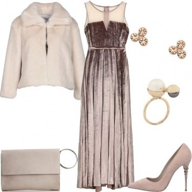 Outfit Cerimonia nei toni del rosa