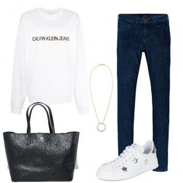 Outfit Una felpa e via