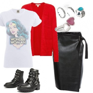 Outfit I\'m wonder woman