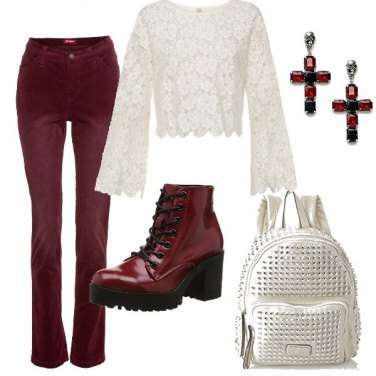 Outfit Non solo pizzo