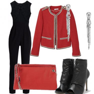 Outfit Il rosso che mi dona