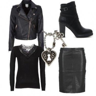 Outfit Un po\' rock, un po\' sexy