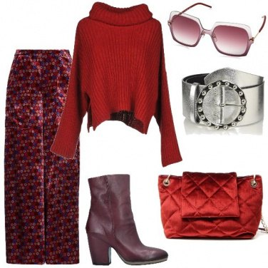 Outfit Capi e accessori in velluto