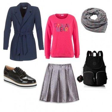 Outfit A lezione con un pizzico di brio