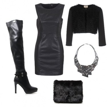 Outfit Sexy black