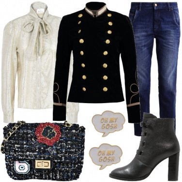 Outfit La giacca da cadetto