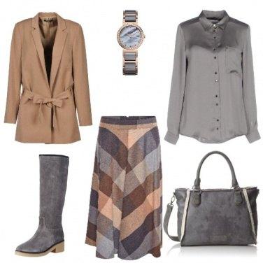 Outfit Sempre con il cammello