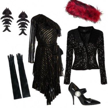 Outfit Streghetta sexy in una notte chic