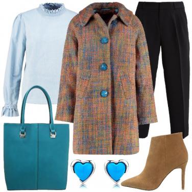 Outfit Classico e colorato