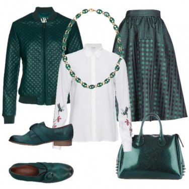 Outfit Outfit color ottanio
