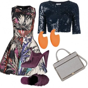 Outfit Foglie colorate