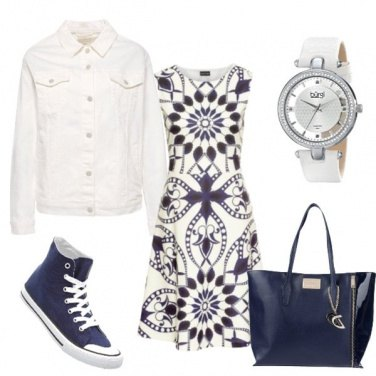 Outfit Biancoblu