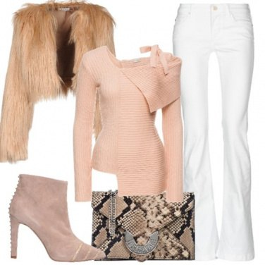 Outfit Il jeans bianco