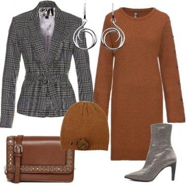 Outfit Il vestito in maglia