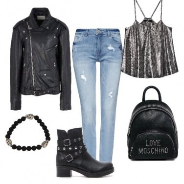 Outfit Rockstar